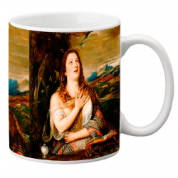 """TIZIANO, """"La Magdalena penitente"""" Mug"""