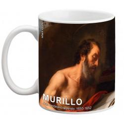 """MURILLO, """"San Jerónimo leyendo"""". Mug"""