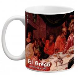 """EL GRECO, """"La última cena"""". Mug"""