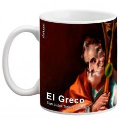 """EL GRECO, """"San Judas Tadeo"""". Mug"""