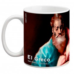 """EL GRECO, """"San Mateo"""". Mug"""