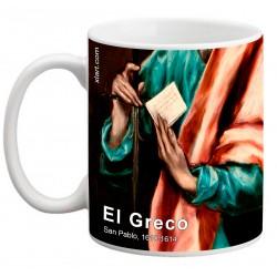 """EL GRECO, """"San Pablo"""". Mug"""
