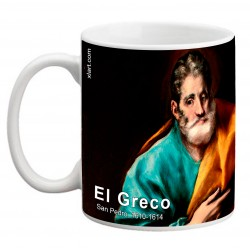"EL GRECO, ""San Pedro"". Mug"