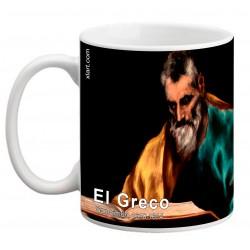 """EL GRECO, """"San Simón"""". Mug"""