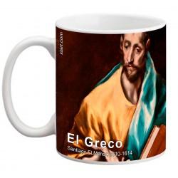 """EL GRECO, """"Santiago El Menor"""". Mug"""
