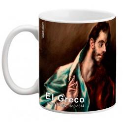 """EL GRECO, """"Santo Tomás"""". Mug"""