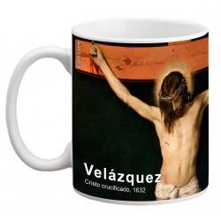 """VELÁZQUEZ, """"Cristo crucificado"""", Mug"""
