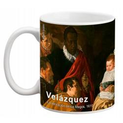 """VELÁZQUEZ, """"La adoración de los Magos"""", Mug"""