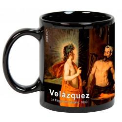 """VELÁZQUEZ, """"La fragua de Vulcano"""". Mug negro"""