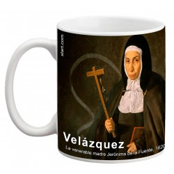 """VELÁZQUEZ, """"La venerable madre Jerónima de la Fuente"""", Mug"""