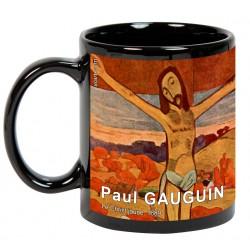 "GAUGUIN, ""Le Christ jaune"". Mug negro"