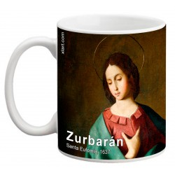 "ZURBARÁN. ""Santa Eufemia"". Mug"