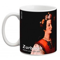"ZURBARÁN. ""Santa Lucía"". Mug"