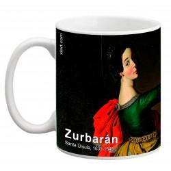"""ZURBARÁN. """"Santa Úrsula"""". Mug"""