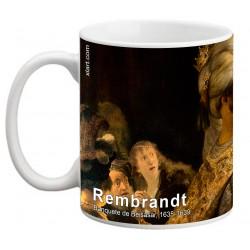 "REMBRANDT, ""Banquete de Beisasar"" Mug"