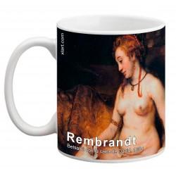 """REMBRANDT, """"Betsabé con la carta de David"""" Mug"""