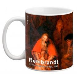 """REMBRANDT, """"El retorno del hijo pródigo"""" Mug"""