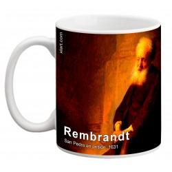 """REMBRANDT, """"San Pedro en prisión"""" Mug"""