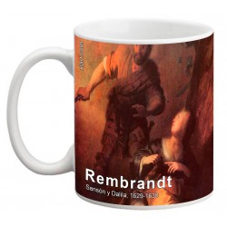 "REMBRANDT, ""Sansón y Dalila"" Mug"