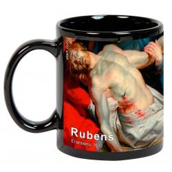 """RUBENS, """"El entierro"""". Mug negro"""