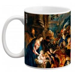 """RUBENS, """"La adoración de los Reyes Magos"""" Mug"""