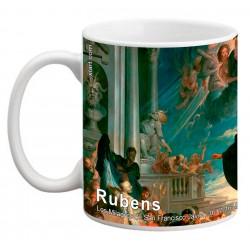 """RUBENS, """"Los Milagros de San Francisco Javier"""" Mug"""