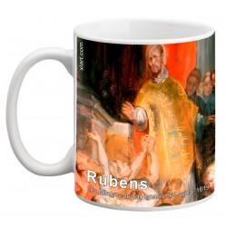 """RUBENS, """"Los Milagros de San Ignacio de Loyola"""" Mug"""