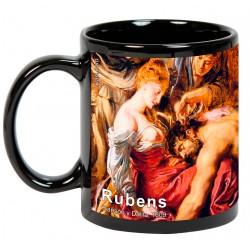 """RUBENS, """"Sansón y Dalila"""". Mug negro"""