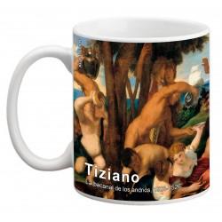 """TIZIANO, """"La bacanal de los andrios"""" Mug"""