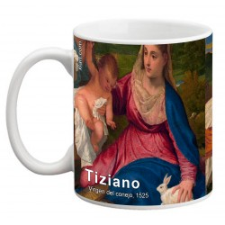 "TIZIANO, ""Virgen del conejo"" Mug"