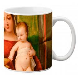 "TIZIANO, ""Gipsy Madonna"" Mug"