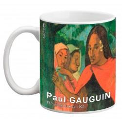 """Paul GAUGUIN. """"El brujo de Hiva Oa"""". Mug"""