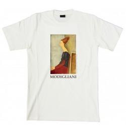 """T-Shirt MODIGLIANI, """"Ritratto di Jeanne"""""""