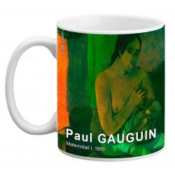 "Paul GAUGUIN. ""Maternidad I"". Mug"