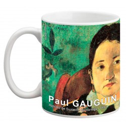 "Paul GAUGUIN. ""Retrato de Suzanne Bambridge"". Mug"