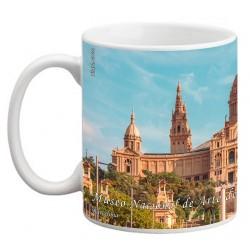 "BARCELONA. ""Museo Nacional de Arte de Cataluña"". Mug"