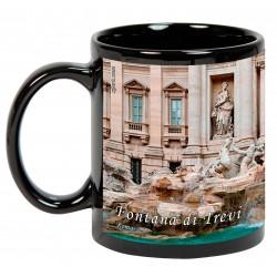 "Roma. ""Fontana di Trevi"". Mug negro"