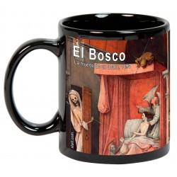 """EL BOSCO. """"La muerte de un avaro"""". Mug negro"""