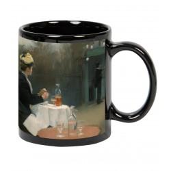 """Ramón CASAS, """"Plein Air"""" Mug negro"""