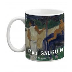 """Paul GAUGUIN. """"Cambio de residencia"""". Mug"""