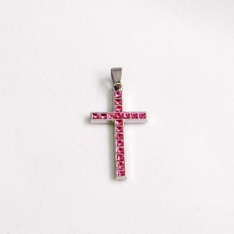 Crucifijo rojo