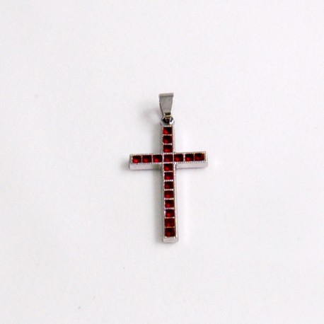 Crucifijo morado