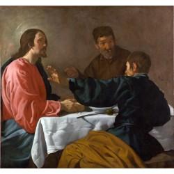 VELÁZQUEZ. La cena de Emaús