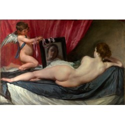 VELÁZQUEZ. La Venus del espejo.