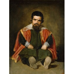 VELÁZQUEZ. El bufón don Sebastián de Morra.