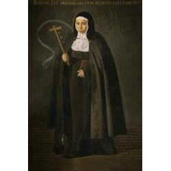 VELÁZQUEZ. La venerable madre Jerónima de la Fuente.